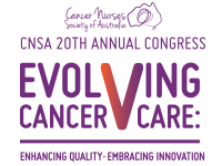 Cancer Nurses Society of Australia - CNSA 20th Annual Congress